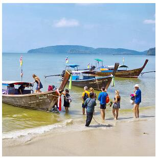 Boats to Railay