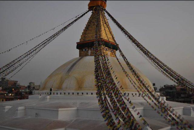 Bodhnath stupa in Kathmandu Nepal