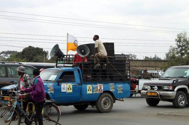 Election campaign in Tanzania