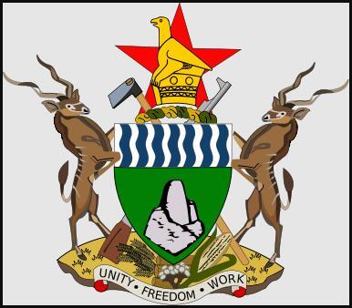National coat of arms of Zimbabwe