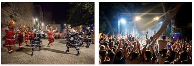 Modern Croatia and festivals