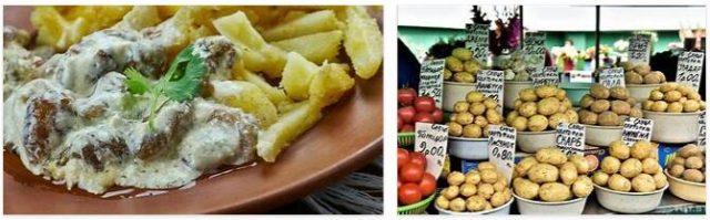 Potatoes from Belarus