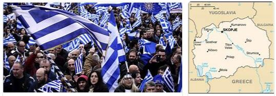 Conflicts between Macedonia and Greece