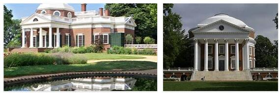 Monticello and University of Virginia (World Heritage)